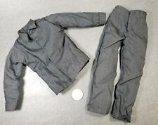 "1:6 Mens Black Collared Shirt & Pants 12"" GI Joe Dragon BBI SWAT Police Uniform"
