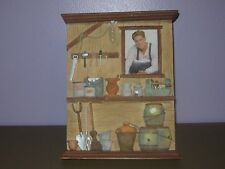 TOOL SHED DIMENSIONAL FRAME WITH TAGS!