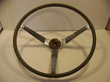 1966 67 PLYMOUTH DODGE WOODGRAIN STEERING WHEEL CHARGER SATELLITE BARRACUDA