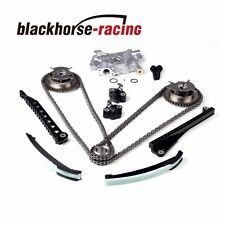 Timing Chain (HP)Oil Pump Kit+Cam Phasers For Ford F150 Lincoln 5.4L 3-V 2004-08