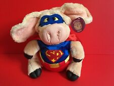 PIGGIN SUPER HERO SUPER PIG PLUSH PIG BRAND NEW