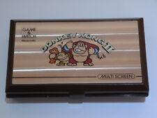 Nintendo Game & Watch Handheld * DONKEY KONG II 2 * Retro Console Rare JR-55