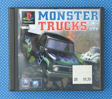 Monster Trucks (Sony PlayStation 1, 1997, Keep Case)