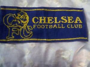 CHELSEA F.C. Official 1990's Crested Bar / Golf / Snooker / Towel FREE POST UK