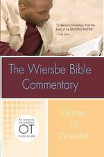 Wiersbe Bible Commentary by Warren W. Wiersbe (2007, Hardcover, New Edition)