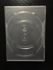 Clear DVD CD Case Fits Two Discs New
