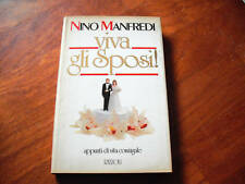 MANFREDI, viva gli sposi Rizzoli 1984. dedica