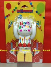 Medicom Be@rbrick Greeting 2013 Exhibition 400% Happy Birthday Bearbrick 1pc