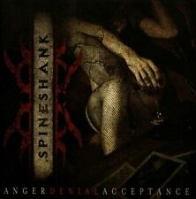 Anger Denial Acceptance * by Spineshank (CD, Jun-2012, CMA)