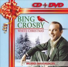 Bing Crosby - White Christmas (CD) / Winter Dreams (DVD) • NEW