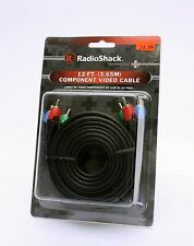 1500231 RadioShack Component Video Cable 12 FT *New in Box*