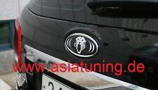 Tiger-Emblem hinten (Heckklappe) - Kia Niro ab 2016 Tuning-Zubehör chrom-schwarz