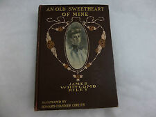 "VICTORIAN ERA JAMES WHITCOMB RILEY ""AN OLD SWEETHEART OF MINE"" HOWARD CHRISTY"