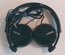 Sony MDR-ZX100 On Ear Foldable Wired Headphones - Black