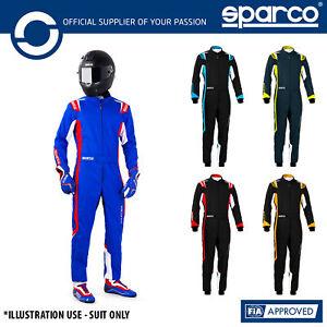 002342 New 2020 Sparco Thunder Karting Suit Kart (CIK-FIA Level 2) Adult & Kids