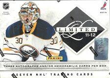 2011-12 Limited Factory Sealed Hockey Hobby Box  Ryan Nugent-Hopkins AUTO RC?