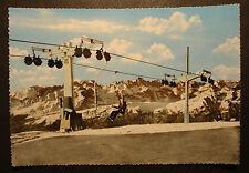 Vecchia foto vivide-AK/Cartolina/PK Monte Bondone 1960: seggiovia Palon