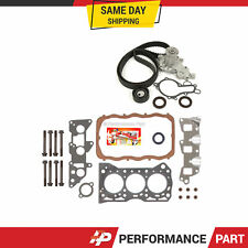 Head Gasket Set Timing Belt Kit Water Pump for 85-88 Chevrolet Non TURBO G10