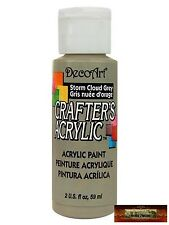 M01472 MOREZMORE DecoArt STORM CLOUD GREY Orange Crafter's Acrylic Paint IZB