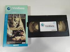 VIRIDIANA LUIS BUÑUEL FERNANDO REY RABAL VHS CAJA CARTON CASTELLANO EL MUNDO