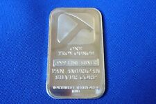 Northwest Territorial Mint Silver Bullion Bars Ebay