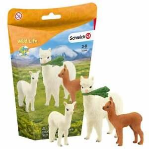 Schleich Wild Life Alpaca Set 42544 3 Figure Mother and Babies Set