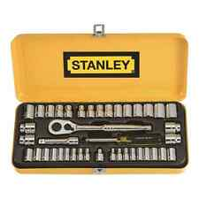 "Stanley 41 Piece 1/4"" 3/8"" Drive Socket Set"