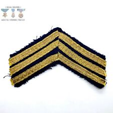 "EARLY 20TH CENTURY MILITARY OR SCHOOL CHEVRON STRIPE INSIGNIA APPROX. 5.5"" WIDE"