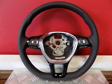 ! LIKE NEW ! 5G0419091GF STEERING WHEEL LEATHER LENKRAD LEDER VW GOLF VII 0km !