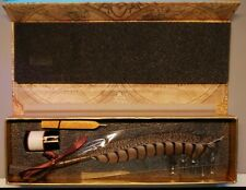 More details for the writing collection calligraphy set with ink, nibs, wax and quill.