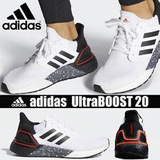 Adidas UltraBoost 20 Men's sizes US 11,12,15 Brand New - FX8333 (White Scarlet)