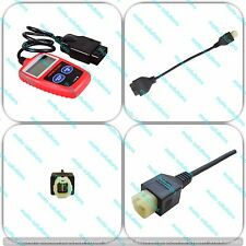 OBD2 Diagnostic Code Reader Adapter Scanner for Honda Motorcycle ATV
