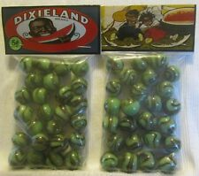 2 Bags Of Dixieland Southern Watermelon Promo Marbles