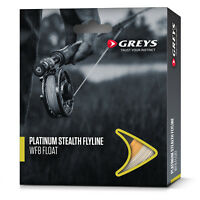 Greys Platinum Stealth Fly Fishing Line Floating / Intermediate / Wakesaver Tip