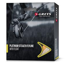 Greys Platinum Stealth Fly Fishing Line Floating / Intermediate / Wakesaver Tip