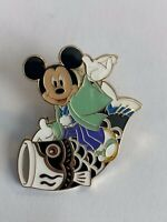 TDR Mickey Riding A Koinobori Flag Disney Pin (B0)