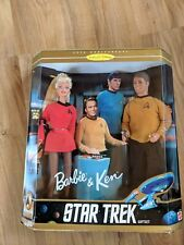 1996 Mattel 30th Anniversary  Collector Edition Barbie & Ken Star Trek Gift Set