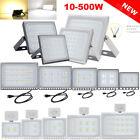 Slim LED Flood Lights 500W 300W 200W 150W 100W 50W 30W 20W 10W Warm &Cool White