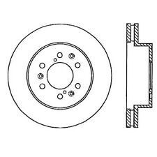 Centric Parts 127.66057L Front Performance Brake Rotor