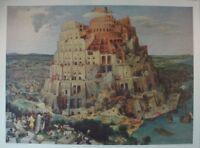 Peter Bruegel d.Ä. Der Turmbau zu Babel Kunstdruck G-5532