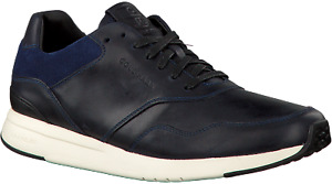 Mens Cole Haan Grandpro Runner - Navy Leather, Size 10 [C26383]