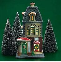 HABERDASHERY 1 OF 3 UPTOWN SHOPS # 55311  DEPT 56 RETIRED Christmas in the City