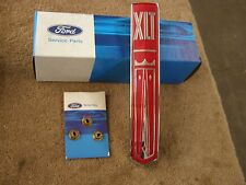 NOS OEM Ford 1973 1976 Truck XLT Grille Ornament Emblem 1974 1975 F100 F250 F350