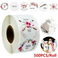 Office Gift Packaging Thank You Adhesive Labels Sticker Roll Seal Labels