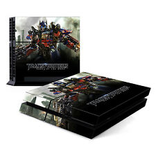 Skin Decal Cover Sticker for Sony PlayStation 4 PS4 - Transformers Optimus Prime
