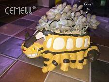 Totoro Mini Planter / My Neighbor Totoro Cat Bus Gardening Studio Ghibli
