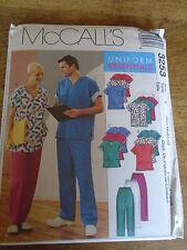 """PATRON  """"McCalls """" UNIFORME PANTALON BLOUSE TUNIQUE TAILLE XL/XXL...  N° 3253 Y"""