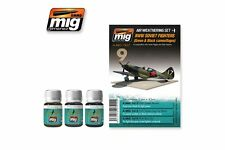 AMMO OF MIG A.MIG-7422 Wash Set WWII Soviet Camo Black&Green 3x35ml