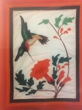 VINTAGE HOLIDAY DESIGNS HUMMINGBIRD APPLIQUÉ WALLHANGING QUILT PATTERN  UC