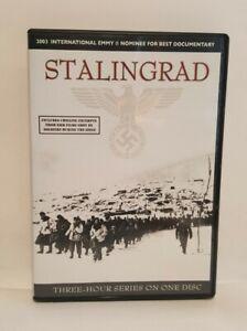 Stalingrad (2007) DVD The Complete Mini Series, 180mins, UK R2 DVD